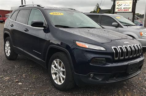 jeep passport 2015 2015 jeep cherokee latitude bellers auto