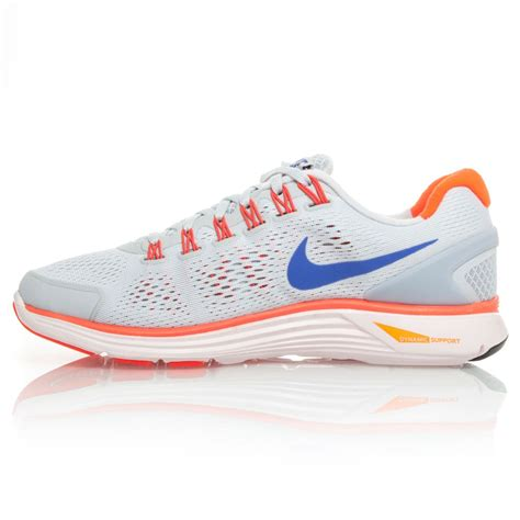 shop nike womens running shoes nike lunarglide 4 womens running shoes grey pink blue