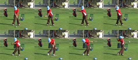 frame by frame golf swing ethan chung junior golfer usa