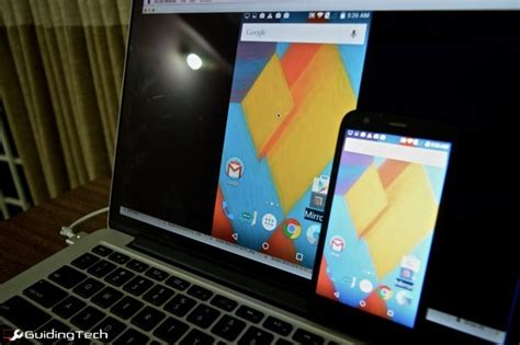 show android screen on pc how to mirror android display to pc or tv guiding tech
