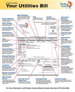 Co Utilities Pinellas County Florida Utilities Understanding Your