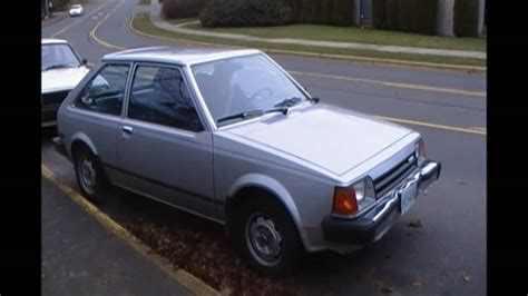 how cars engines work 1984 mazda glc interior lighting 1985 mazda glc 3 door hatchback youtube