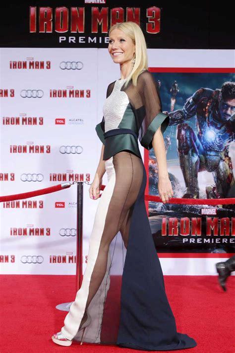 side butt   side boob  modelled  gwyneth