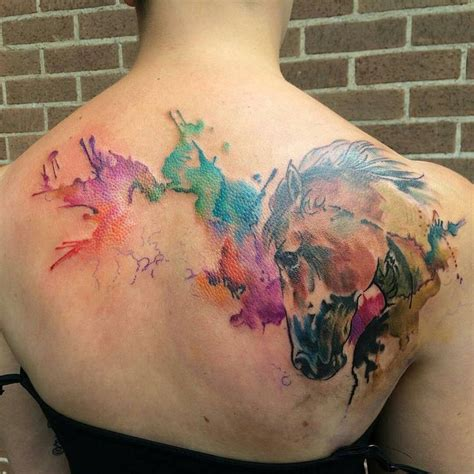 watercolor tattoo upkeep 888 best images about equine on