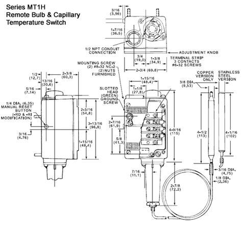 barksdale temperature switch wiring diagram pressure