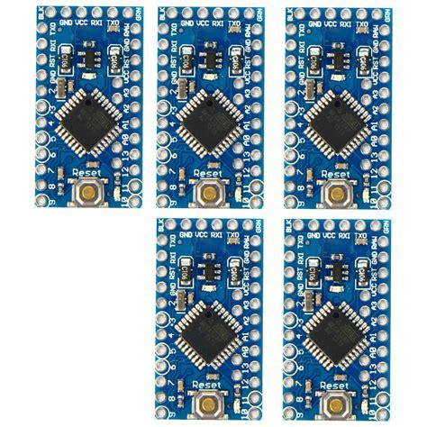 Premium Promini Atmega328p 5v 16 Mhz Arduino Pro Mini 5pc mini enhancement atmega328p 16mhz 5v compatible arduino pro module new te362 ebay