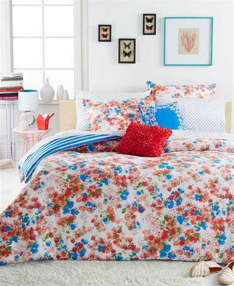 Closeout Teen Vogue Rosie Posie Twin Comforter Set