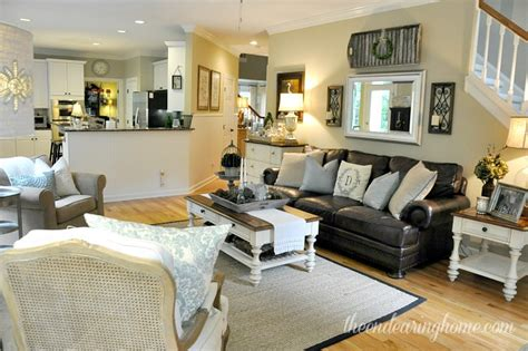 family room makeover coastal cottage family room makeover