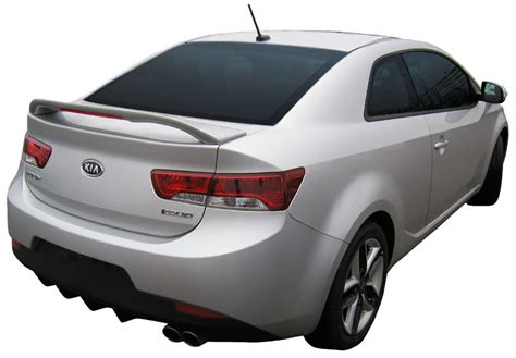 Kia Forte Spoiler 2010 2012 Kia Forte Coupe Painted Rear Deck Spoiler Wing