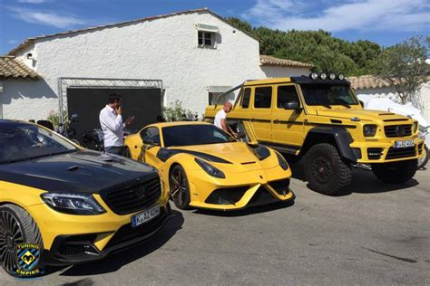 mansory mercedes g63 yellow mansory ferrari f12 stallone and mercedes g63 amg 6