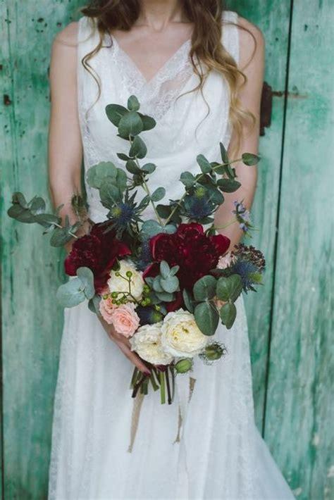Wedding Bouquet Eucalyptus 35 stunning eucalyptus wedding decor ideas happywedd