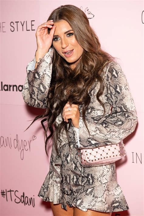dani dyer in the style collection launch party in london