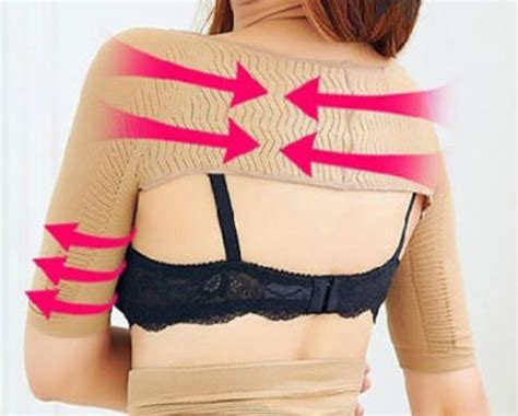Arm Compression Detox Slimming Sleeves by 10 For A Compression Arm Slimming Shoulder Posture