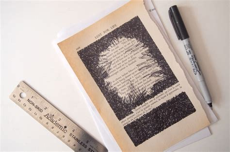 your page books diy turn book pages into artwork