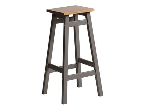 Tabouret Bar Conforama by Tabouret Haut Bruges Coloris Gris Ch 234 Ne Vente De Bar Et