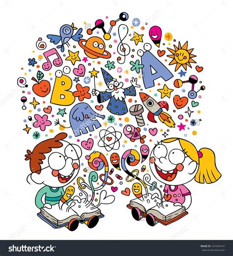 free vector clipart images reading imagination clip cliparts