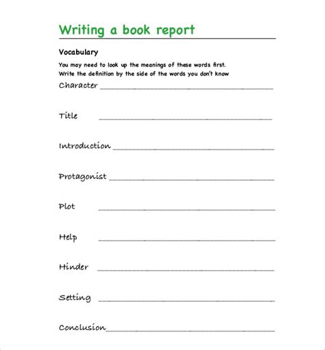 exle of a book report book report template uk proofreadingx web fc2