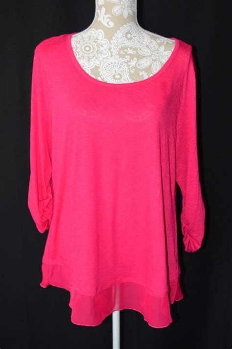 Rushed Sleeve V Neck Top 125 best womens xl images on buttons casual