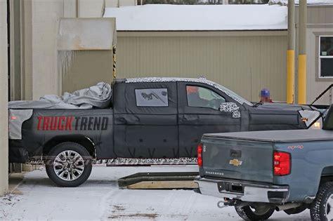 2019 chevy trucks spied 2019 chevrolet silverado 1500