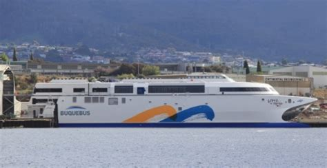 ferry ngv catamaran incat launched world s first high speed passenger ferry