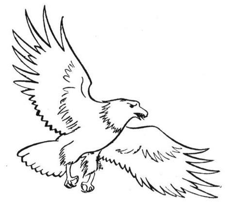 eagle wings coloring page coloriage aigle et ses ailes ouvertes dessin gratuit 224