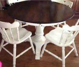 Painted two coats of old white chalk paint decorative paint by annie