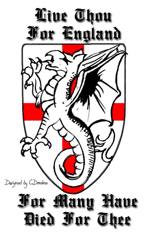 my england tattoo design by donohoe on deviantart