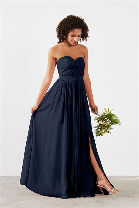 Navy Bridesmaid Dress by Navy Bridesmaid Dresses All Dress