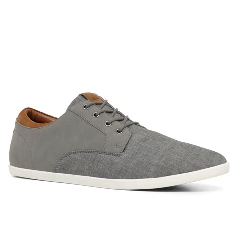s aldo sneakers lyst aldo ingomer in gray for