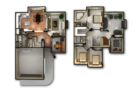 home design plans 3d remarkable 3d floor plans house remarkable 3 bedroom house floor plan 3d home designs 2