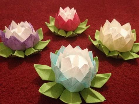 How To Make Paper Lotus Lantern - diy paper lotus lanterns for buddha s birthday family