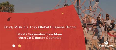 Mba In Foreign Countries by Mba In Entrepreneurship In Madrid Gbsb