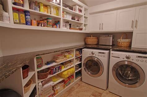 Laundry Pantry Design | residential kitchens pantry laundry