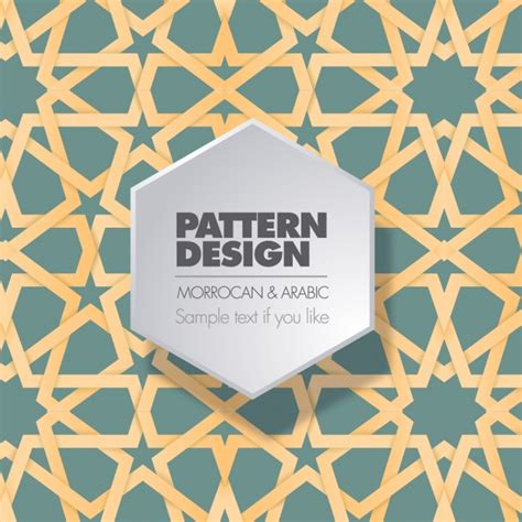 moroccan pattern free svg moroccan and arabic pattern design vector free download