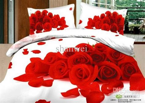 Promo Bed Cover Murah 180x200 T3010 3 blossom white comforter set cotton duvet cover wedding sets bed in a bag