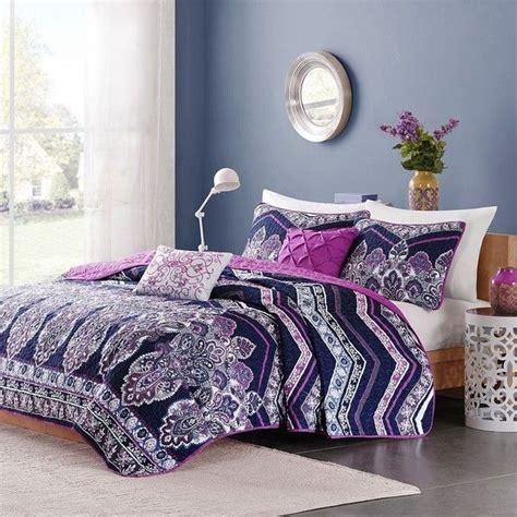 purple twin xl comforter 25 best ideas about twin comforter sets on pinterest