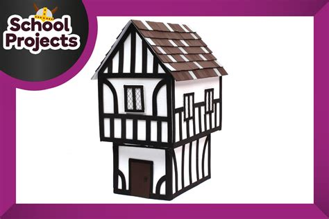 i want to build a home how to make a tudor house hobbycraft blog