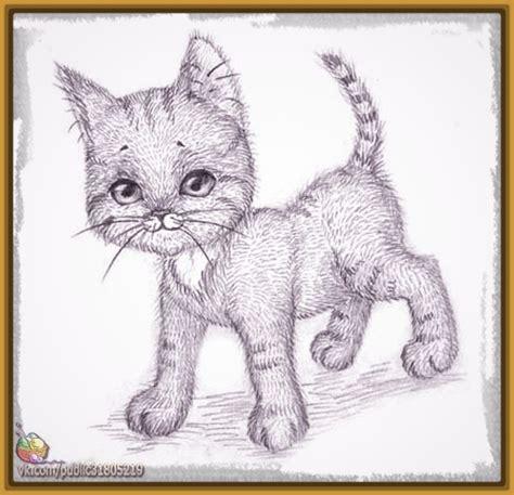 Imagenes A Lapiz De Gatos   dibujos de gatos tiernos a lapiz archivos dibujos de gatos