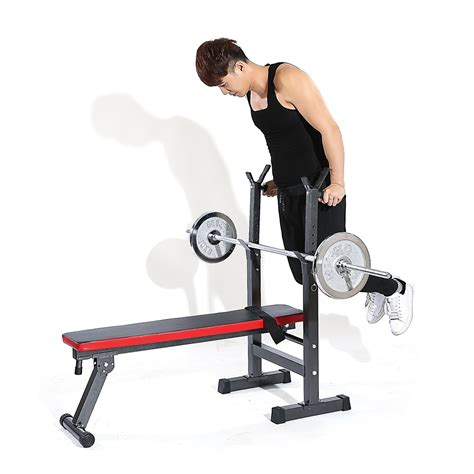 bench lifting tomshoo adjustable abdominal ab bench training gym weight