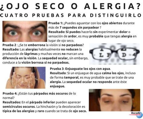 Fallas F 758 0 191 ojo seco o alergia ojo seco