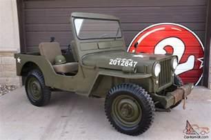Jeep Cj3a Willys Cj3a Jeep Cj 3a