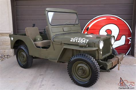 willys jeepster willys cj3a military jeep cj 3a