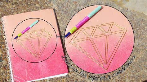 c 243 mo decorar tus cuadernos diy decor 225 tus cuadernos - Decorar Cuadernos Diy