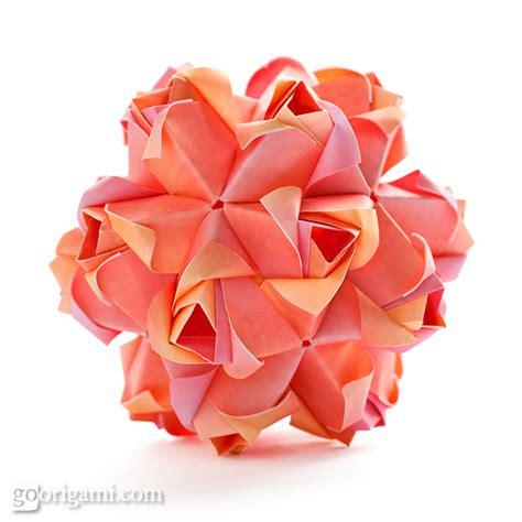 kusudama flower origami roses kusudama diagram
