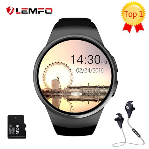 Dijamin Advance Vs 30bt Speaker Bluetooth Tf Card Aux Usb 1 genuine lemfo kw18 bluetooth smart screen support sim tf card smartwatch phone