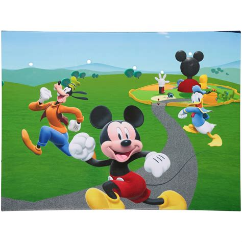 Disney Junior Mickey Mouse Clubhouse Mega Mat - 15 collection of mickey mouse clubhouse wall