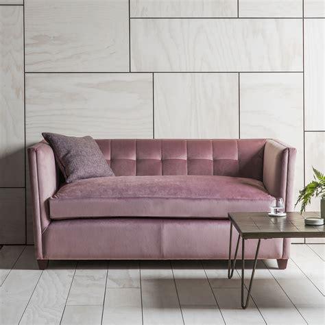 pink sofa bed pink velvet sofa primrose plum