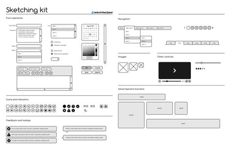 Selected Wireframes Templates That Are Free Web Wireframe Template