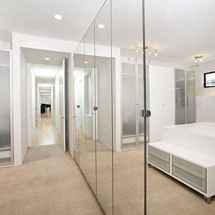 Stanley Mirrored Closet Door by Pin By Shaun On Master Bath Design