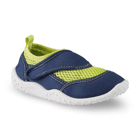 toddler boy water shoes athletech toddler boy s swimmer navy lime green water shoe